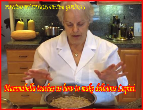 Mammabella teaches us how to make delicious Lupini.