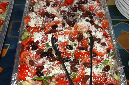 Goudas Recipes - Feta Cheese, Olives, Tomatoes, Onions